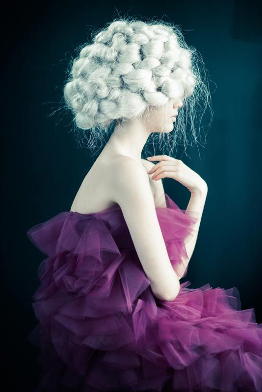 Winter Solitude by Uros Mikic #hair #collection See more on http://salonmagazine.ca/collections/