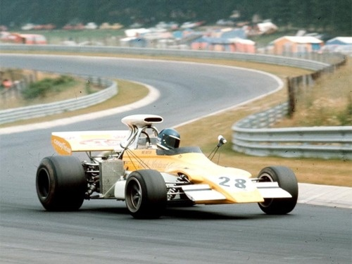 Mike Beuttler, March 721G. German GP, 1972. One of Mike's best results, 8th.
