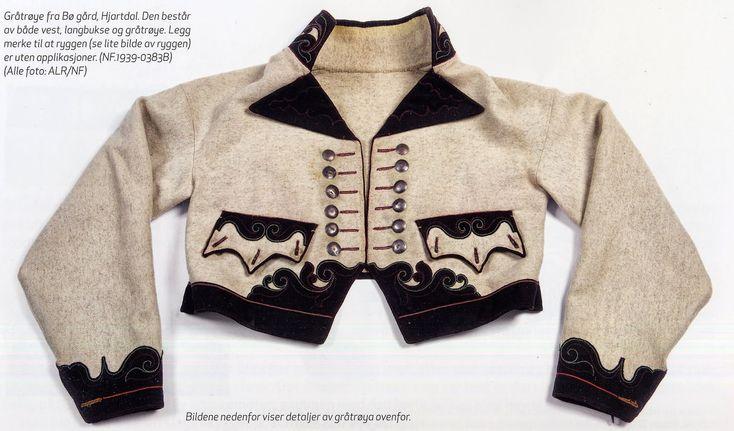 FolkCostume&Embroidery: Gråtrøje costume of East Telemark, Norway