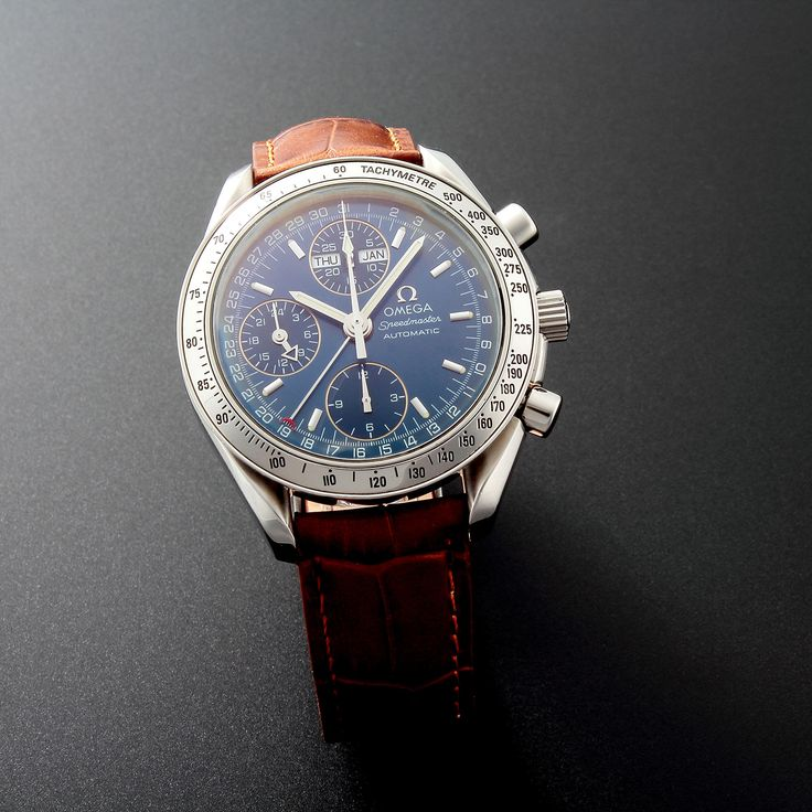 Omega Speedmaster Sport Day Date Chronograph Automatic // 35205 // c.2000 // Pre-Owned
