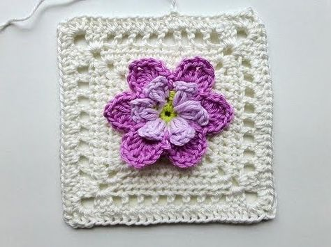 "Adventskalender * 24. Dezember 2012 * Granny Square ""Desideria"" - YouTube"