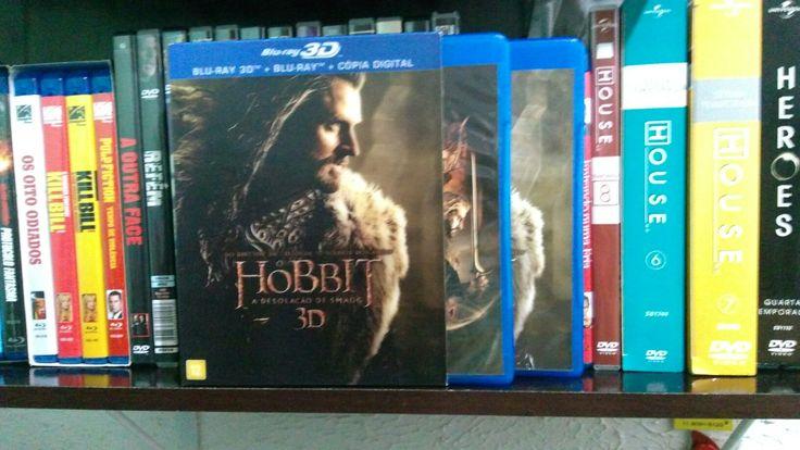 Maratonar os 3 filmes do O Hobbit. Ameiiiiiii
