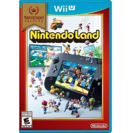 Nintendo Land - Nintendo Selects Edition for Nintendo Wii U, Multicolor