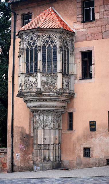 Gothic Turret by Bachspics, via Flickr