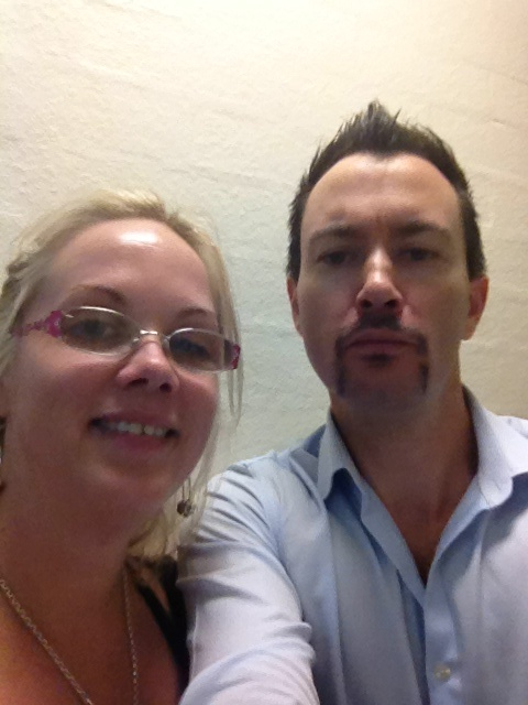 Guest appearance for Movember from Cass