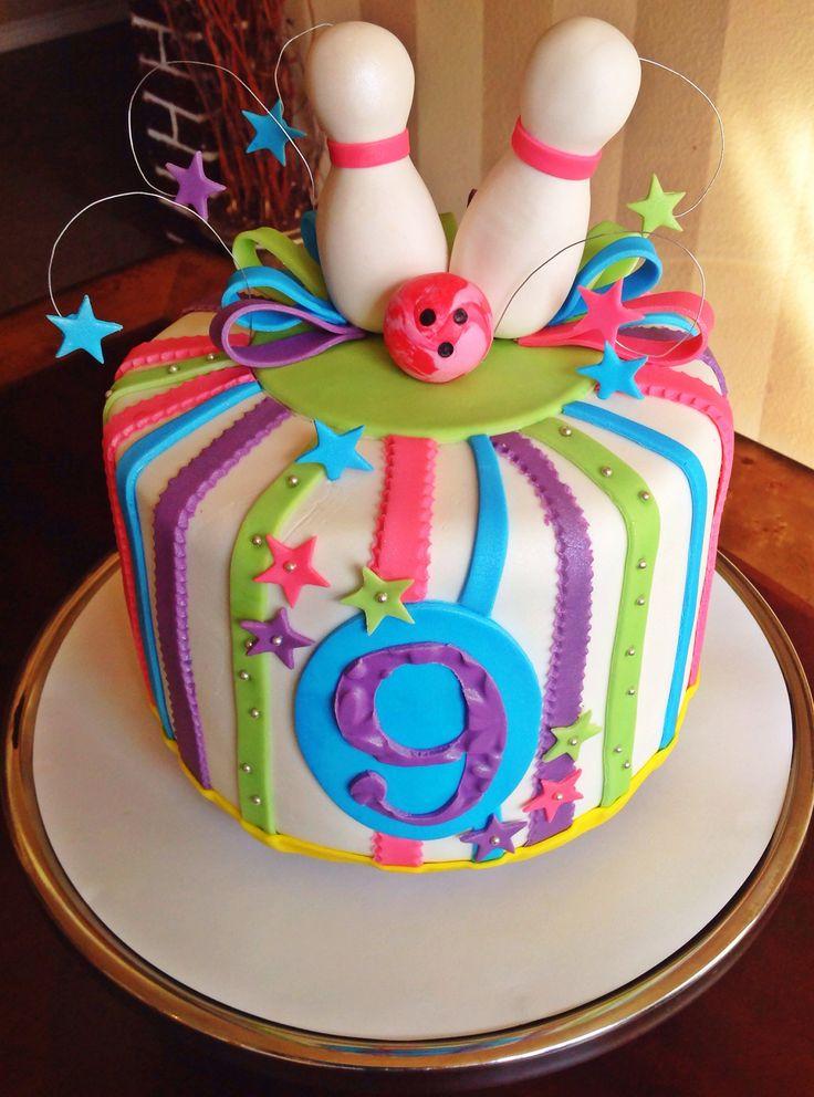 Too Sweeties Bake Shoppe... Bowling birthday cake.