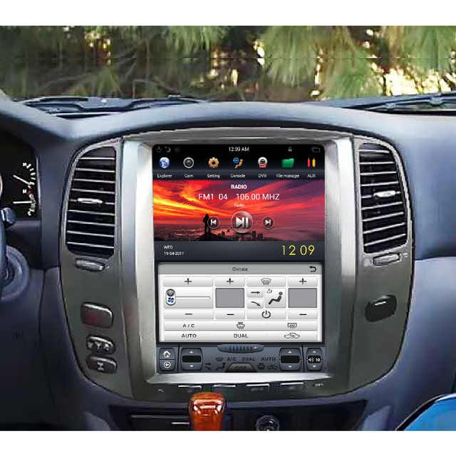 Source Navihua 12 1 Inch Vertical Car Radio Player Fit For Toyota Land Cruiser 100 Lc100 For Lexus Lx47 Lexus Lx470 Toyota Land Cruiser 100 Toyota Land Cruiser
