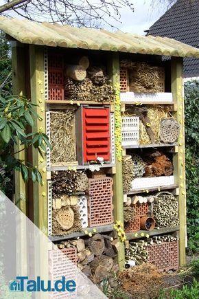 Bauen Sie Ihr eigenes Insektenhotel – kostenlose Bauanleitungen › 25 +