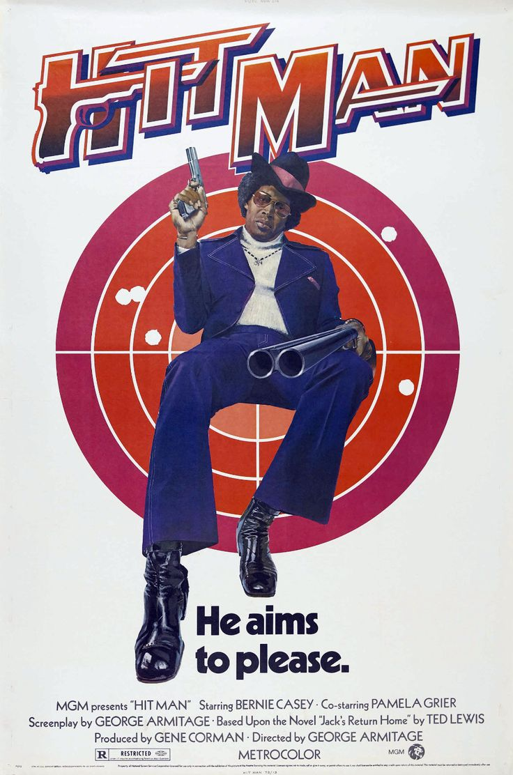 """The Hit Man from 1972. From what I understand a """"Blaxploitation"""" remake of Get Carter."""