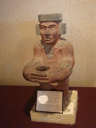 Escultura tolteca,Museo del Sitio  Tula