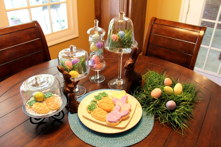 Easter tablescape | TableScapesTable Settings