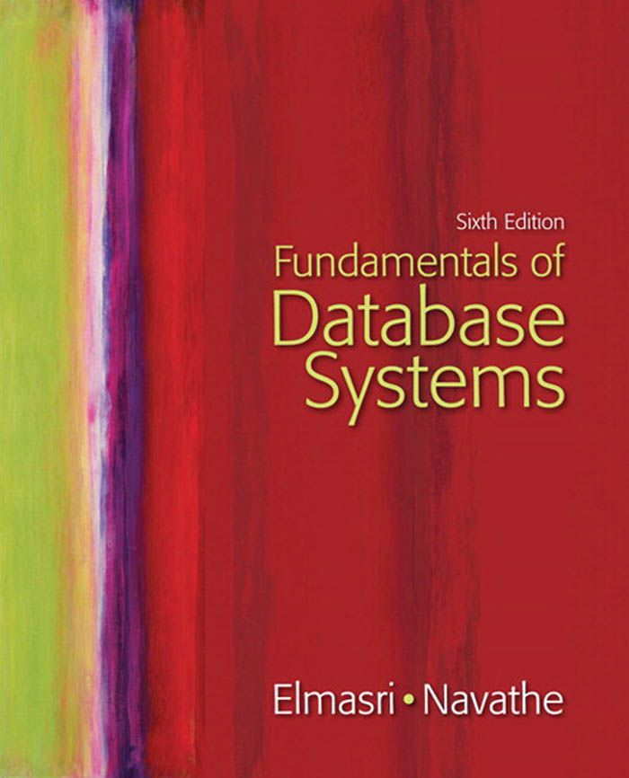 I'm selling Fundamentals of Database Systems (6th Edition) by Ramez Elmasri and Shamkant Navathe - $40.00 #onselz