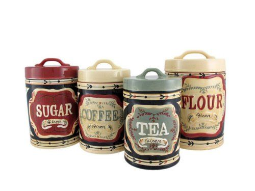 Kitchen Canisters - Practical and Beautiful Kitchen Storage ...