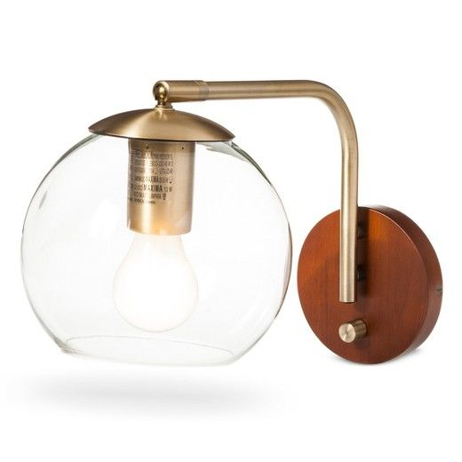 Add a cool retro vibe to any room in the house with the Menlo Collection Brass Wall Sconce. An enchanting, old-fashioned accent to your décor—from traditional to mid-century modern to contemporary. Friends and family will admire your good taste.