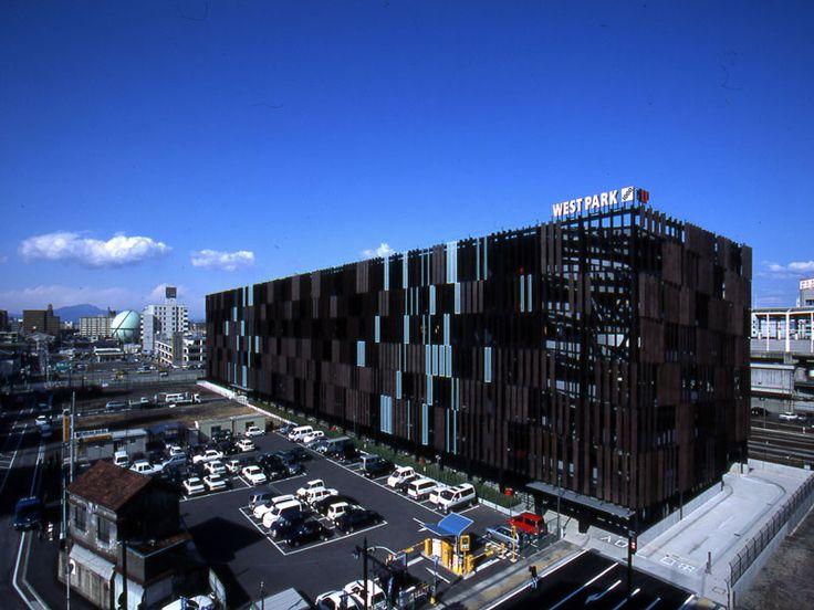 Parking Building Takasaki, Kengo Kuma