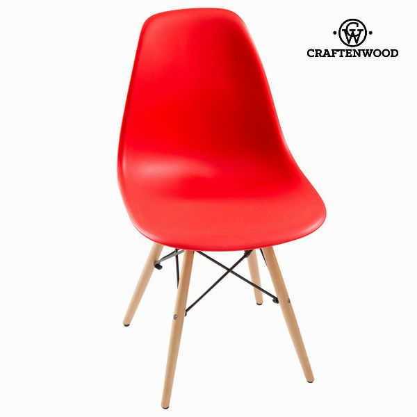 Red abs chair by Craftenwood
