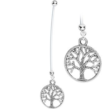 Tree of Life Pregnant Belly Ring #bodycandy #baby #tree $4.99