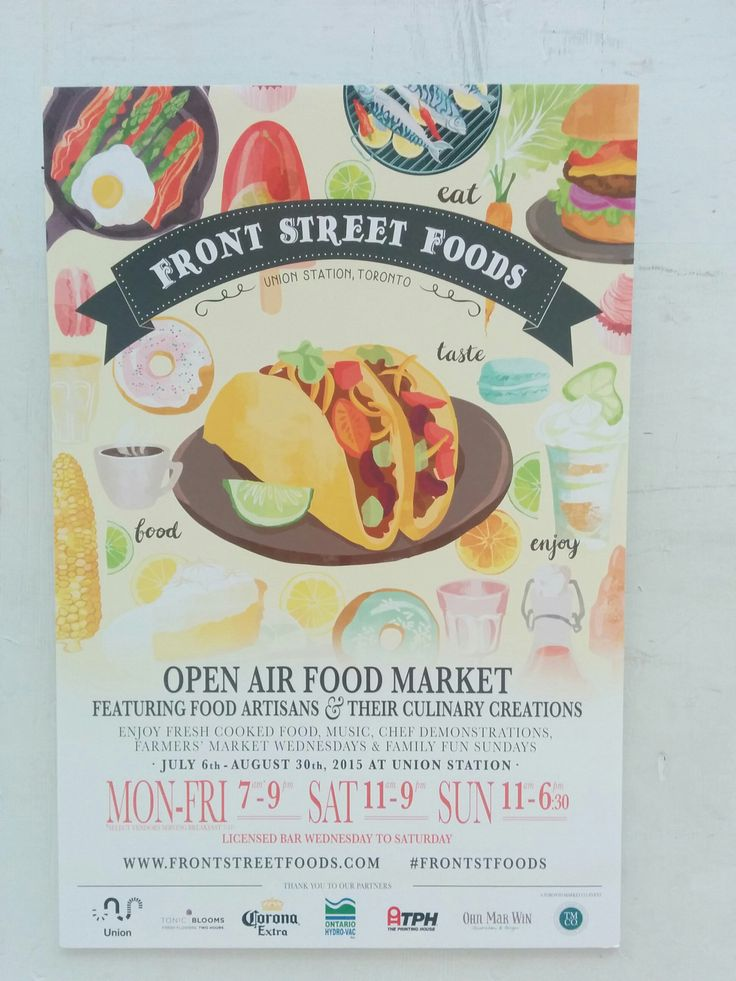 Spotted Holy Chuck Burgers and Uncle Tetsu's at the Front Street Foods Market outside Union Station this weekend.