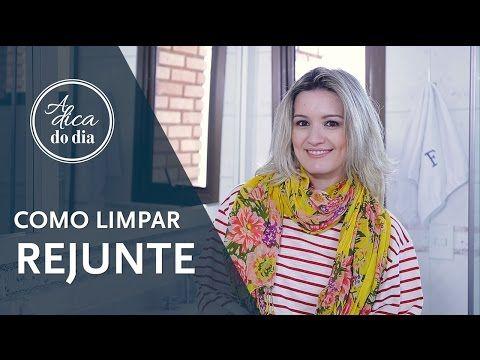 COMO LIMPAR REJUNTE | A DICA DO DIA COM FLÁVIA FERRARI - YouTube