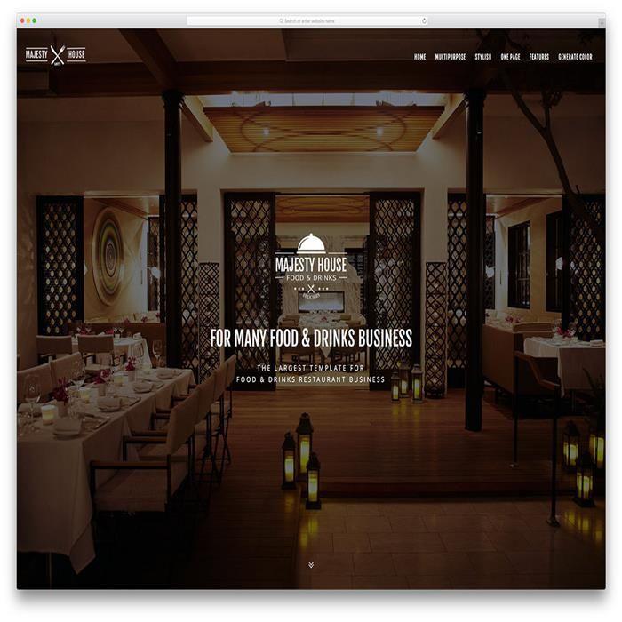 majesty-fullscreen-restaurant-website-theme-template