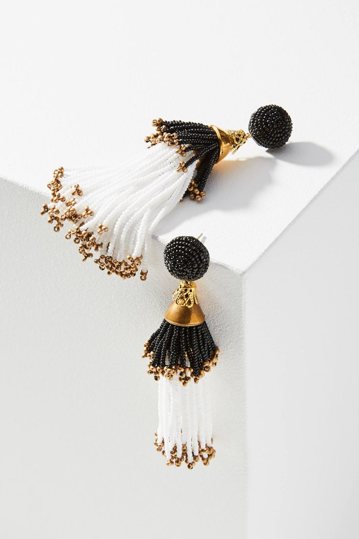 best tassel images on pinterest tassels earrings and jewerly