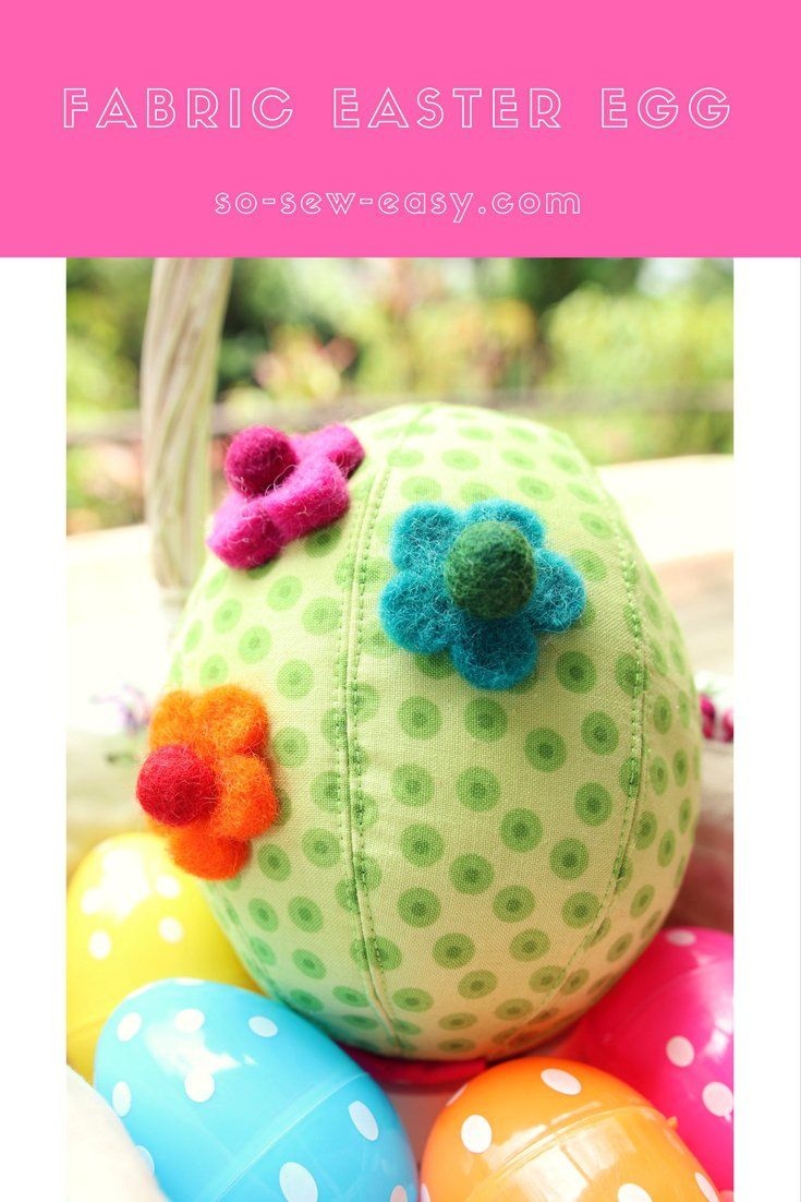 This is a tutorial if you are looking for a different kind of fabric easter egg made with scraps. It has a zipper and enough room for a surprise inside.