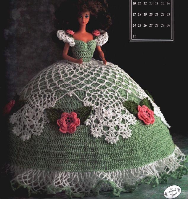 By Annie Potter Free Crochet Pattern Barbie Pinterest