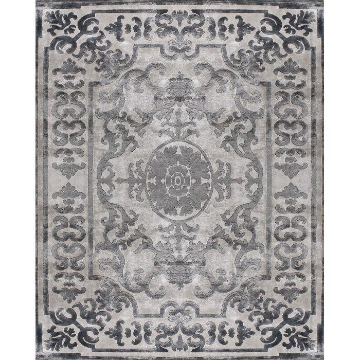 Светло-розовый ковер Антрацит Pompadour Anthracite #carpets #rug #ковер #designer #interior #marqis
