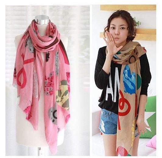 de corea del sur nueva bufanda larga bufandas la tela de moda en las