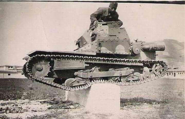 Ansaldo light tank, Hungarian army