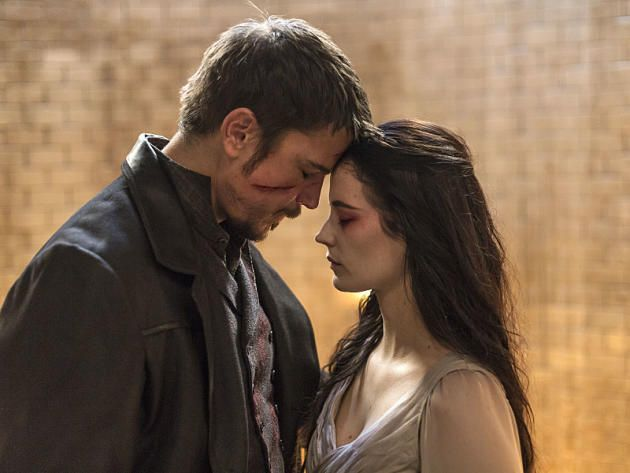 Vanessa: Let it end. With a kiss. Ethan: With a kiss. With love. Vanessa: With love. Vanessa and Ethan - Penny Dreadful Season 3 Episode 9