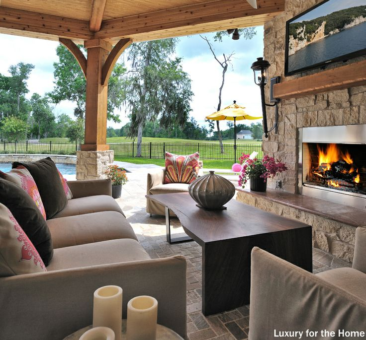 92 best outdoor fireplaces images on pinterest | outdoor