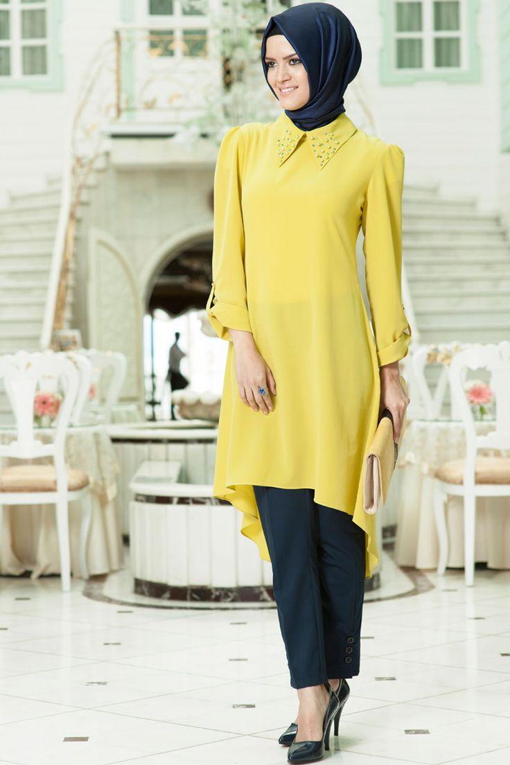Mahber - muslim turkish tunic hijab