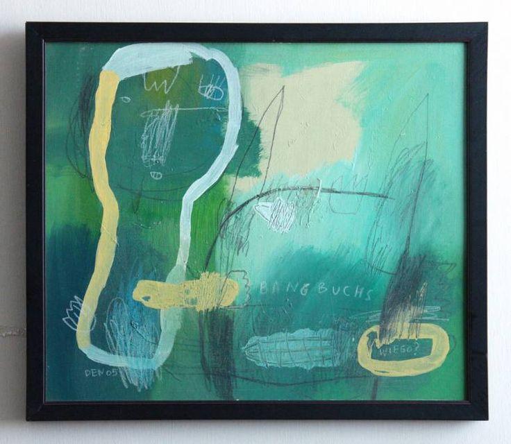 "Saatchi Art Artist deny pribadi; Painting, ""wieso"" #art"