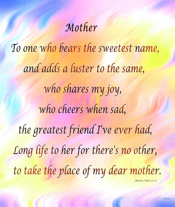 Mother by Barbara Griffin
