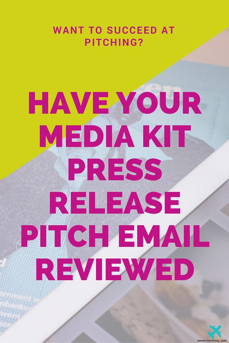 More success at pitching, have your media kit, press release or pitch email reviewed. The best PR advice on the web for business owners, solopreneurs, freelancers and bloggers. Request your review here: http://www.ohmypress.co/shop/?category=Services+%7C+PR