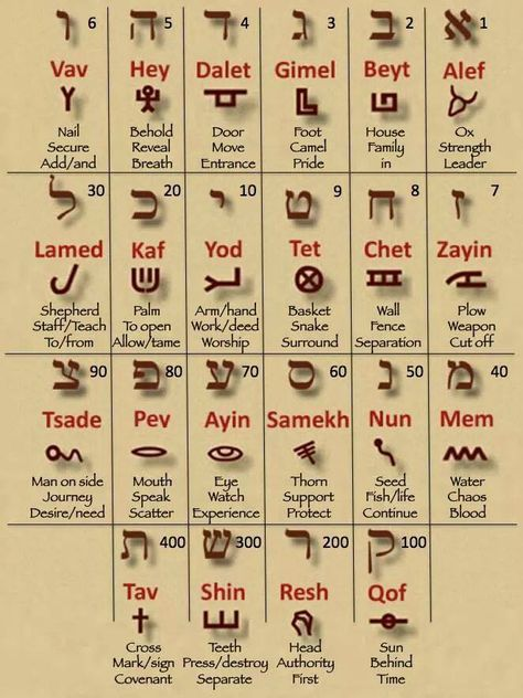 Hebrew Marriage Alfabeto Hebraico Palavras Em Hebraico E Letras