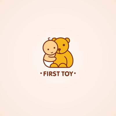 First Toy | Logo Design Gallery Inspiration | LogoMix
