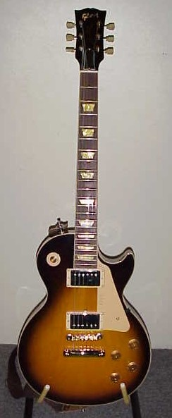 My old 91 Les Paul Classic. For rockers only. Screamed.