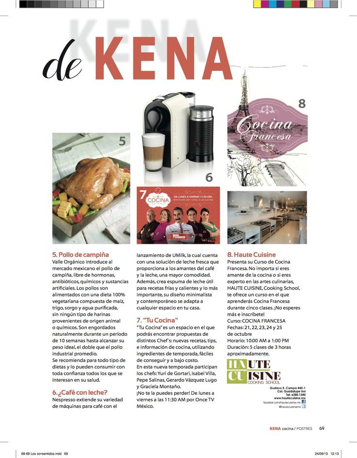 8 best recetas de cocina images on pinterest cooking - Curso de cocina francesa ...