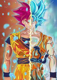 Resultado de imagen para DBS Goku ssjg & ssgss