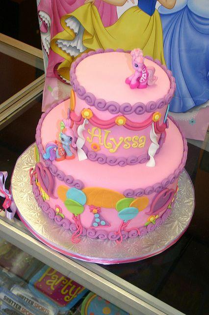 Pinkie Pie cake by Cake Madam, via Flickr