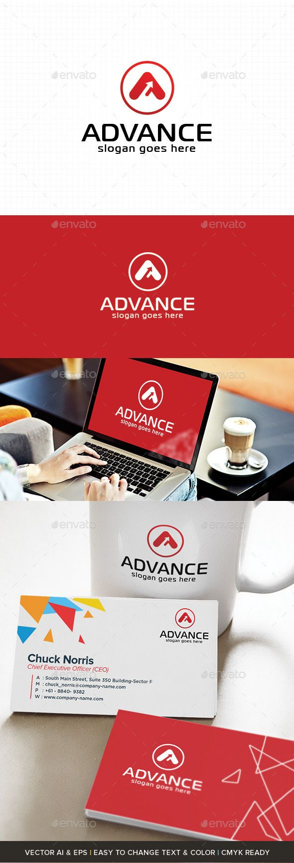A Letter Logo | Advance (AI Illustrator, Resizable, CS, a, accounting, advance, agriculture, air, application, architectural, art, attorney, automotive, aviation, brand, computer, first, identity, internet, logo, mobile, modern, movement, red, service, simple, strong, tech, technology, top)