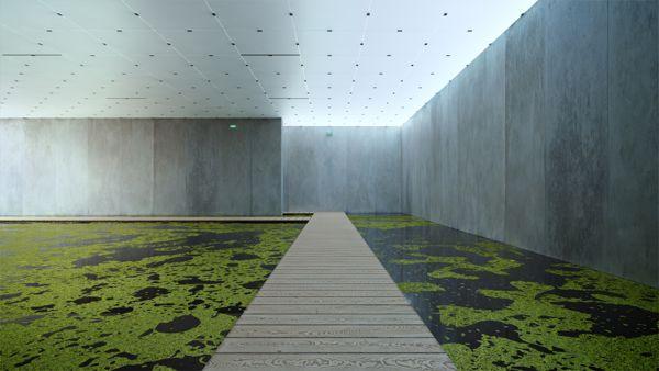 Bregenz Museum Animation Peter Zumthor on Behance