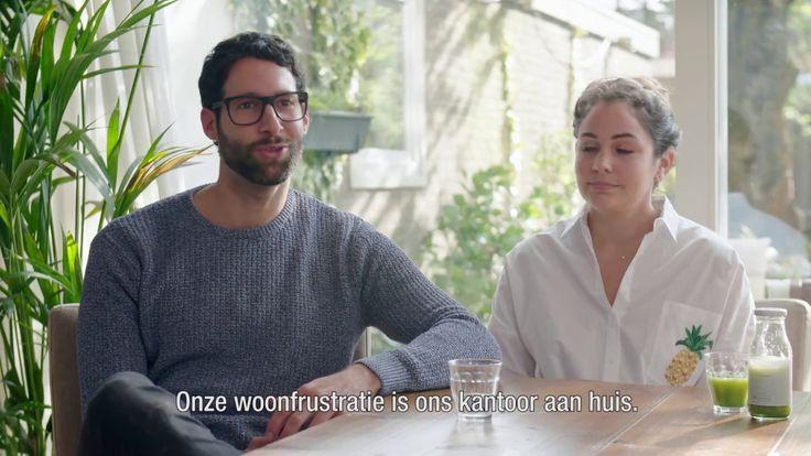 #2 Kantoor aan huis: de woonfrustratie van Joël en Rosalynn | IKEA Wooni...