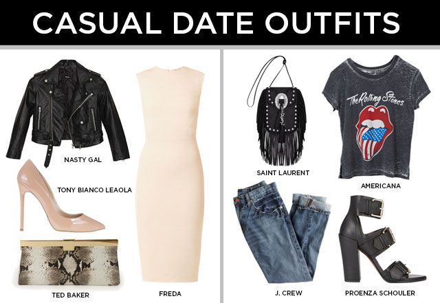 What to Wear When You Don't Know If It's a Date or Not #Valentinesday #fashion