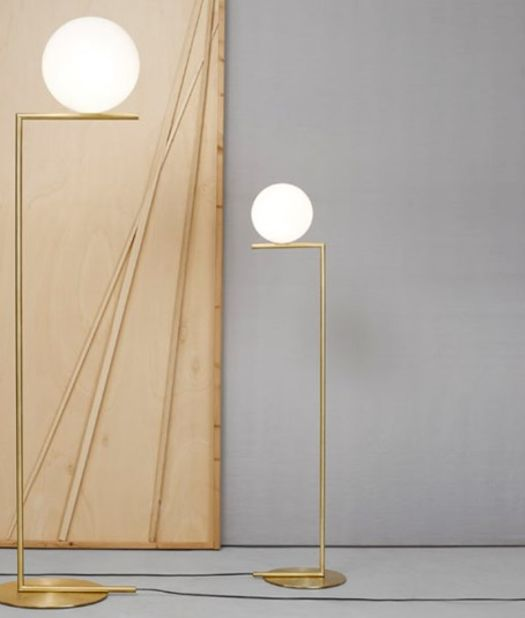 Our newest addition from Flos. The Michael Anastassiades lights in all shapes and sizes. http://www.skandium.com/what-s-new/ic-f1-floor-lamp-15330