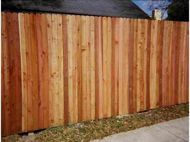 Western red cedar fence pictures and gates