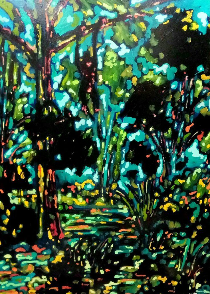 Scimmiettetuttocazzo, olio su tela, 190x230 cm, 2017, Nicola Facchini