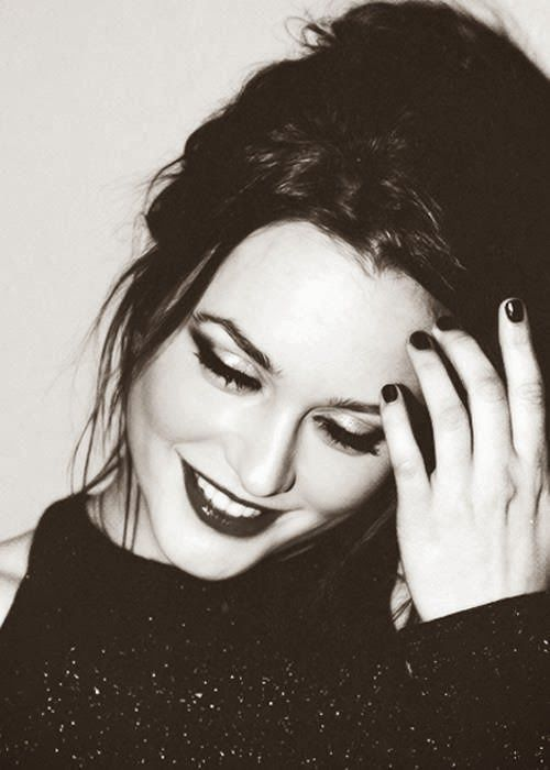 The gorgeous Leighton Meester. i have never had a bigger woman crush